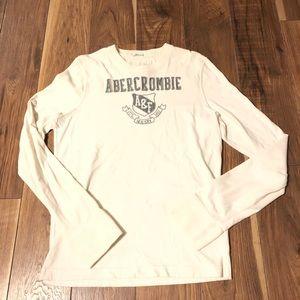 Men's Abercrombie Long Sleeve T Shirt